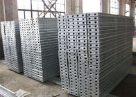 Stable Galvanized Steel Scaffold Planks Adjustable Scaffold Plank Welded Technic