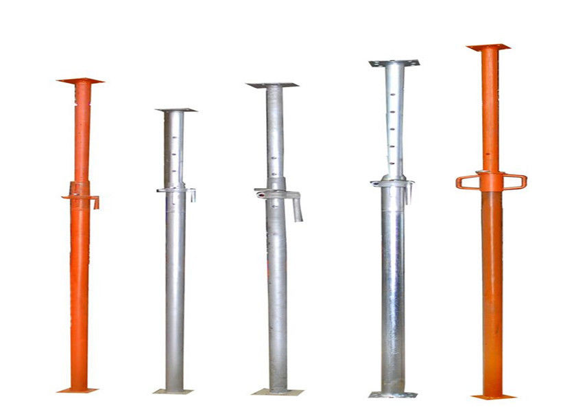 Construction Steel Scaffolding Systems Heavy Duty Acrow Adjustable Steel Props